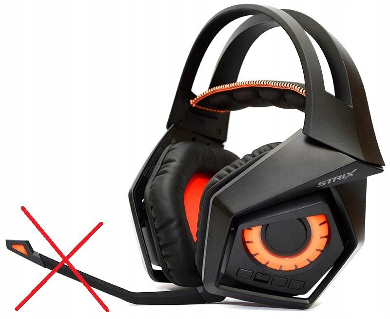 Słuchawki bezprzewod Asus ROG Strix bez mikrofonu