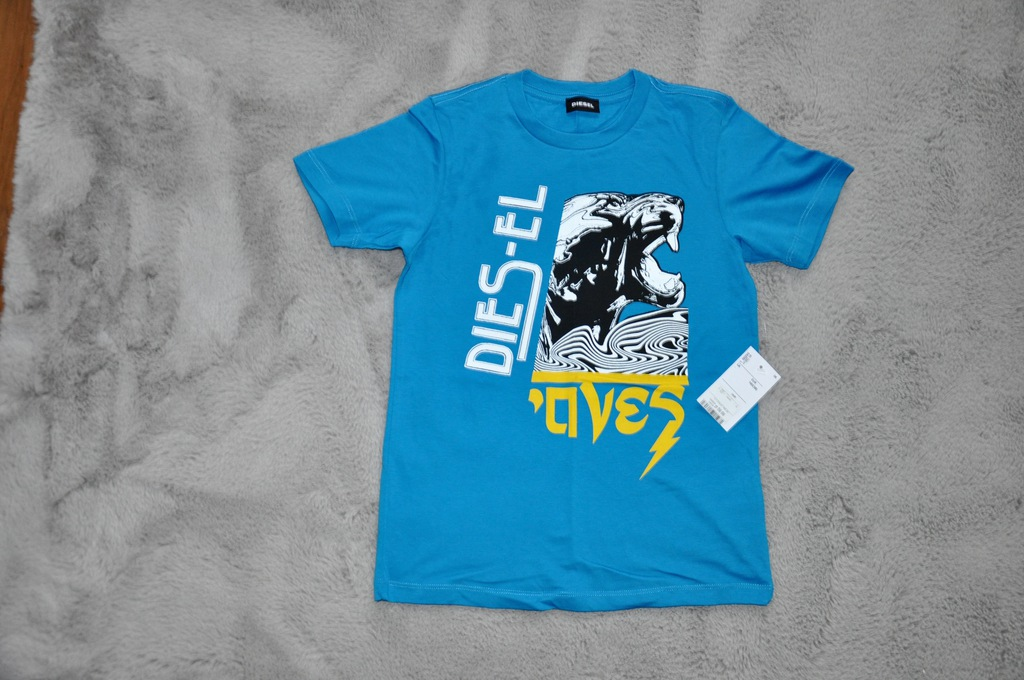 "Koszulka t""shirt DIESEL oryginał r. 140 cm"