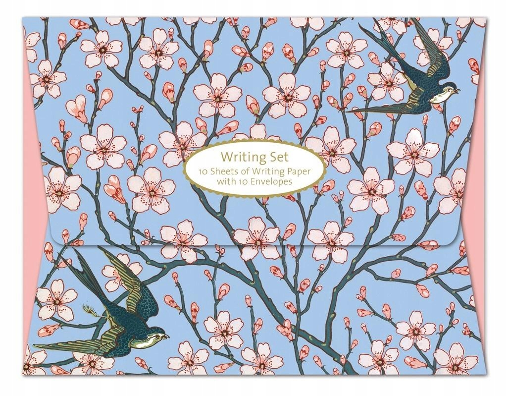 Papeteria Wallet Almond Blossom & Swallow