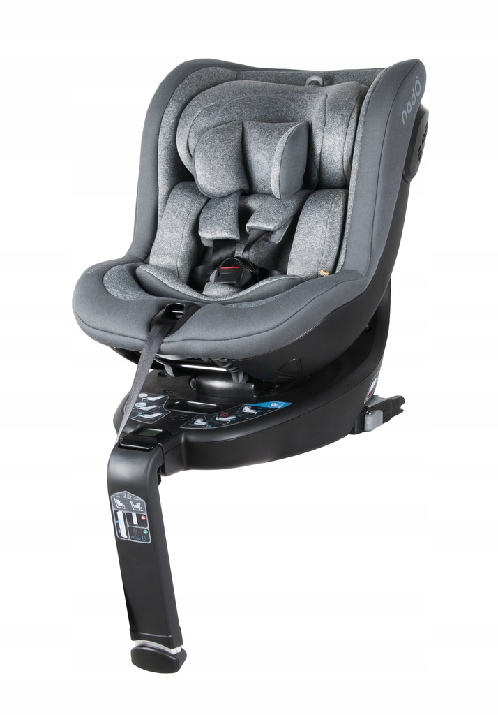 Fotelik dziecięcy NADO O3 iSize 360 0-18 kg Grey