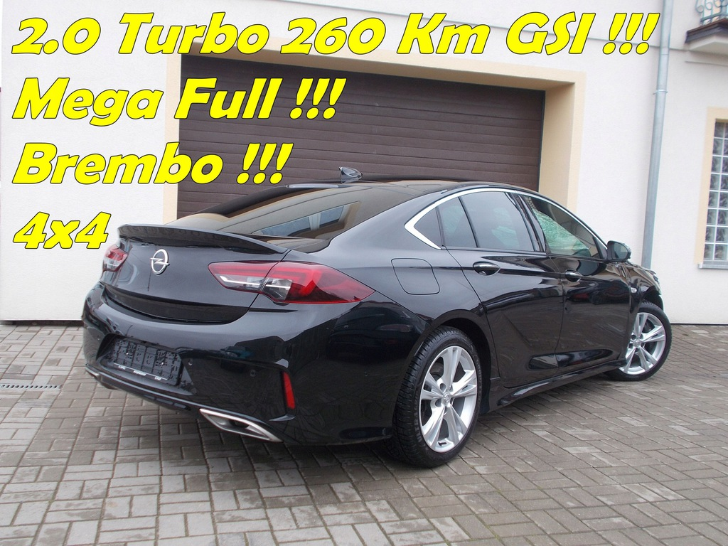 Opel Insignia Gsi 2 0 Turbo 260 Km 4x4 Automat 9033589321 Oficjalne Archiwum Allegro