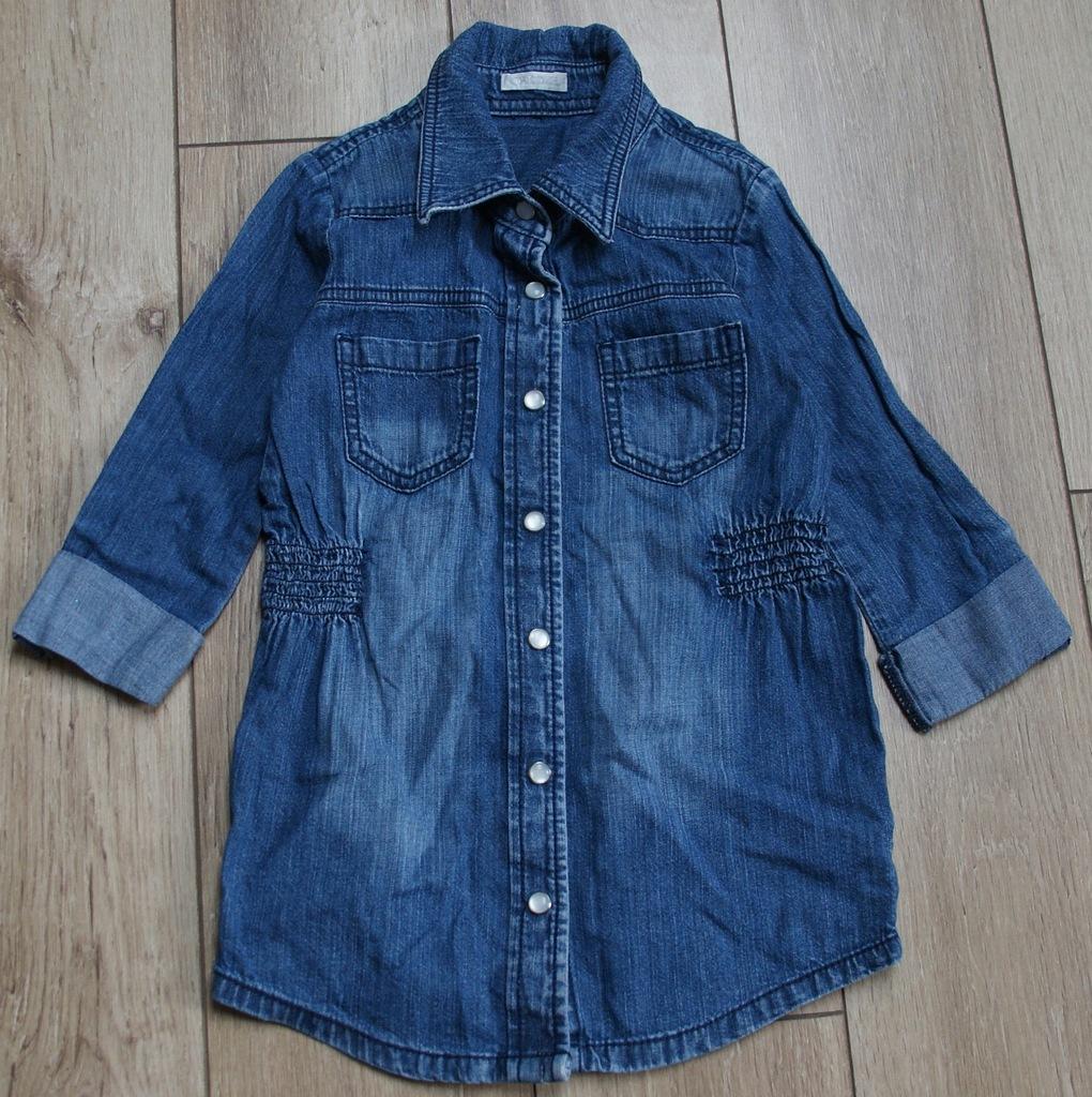CHEROKEE tunika koszula jeans szmizjerka 5 6 lat