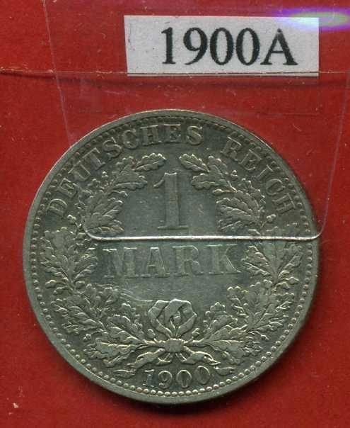 NIEMCY 1 MARKA 1900 A