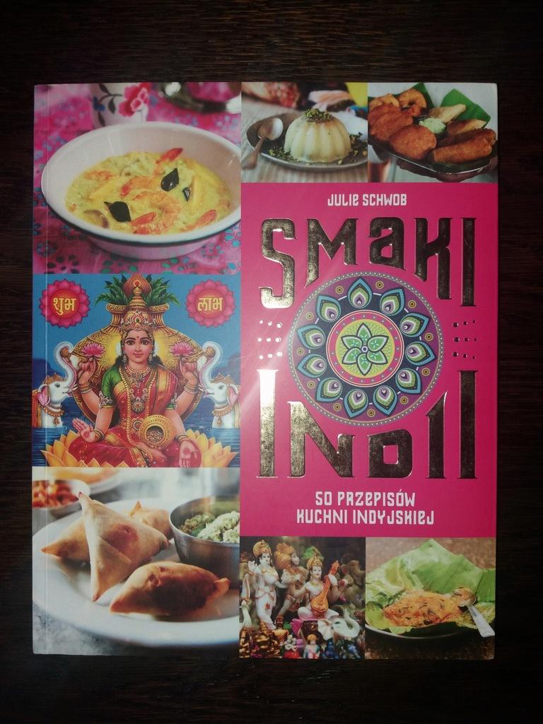 Książka kucharska 50 przepisów kuchni indyjskiej