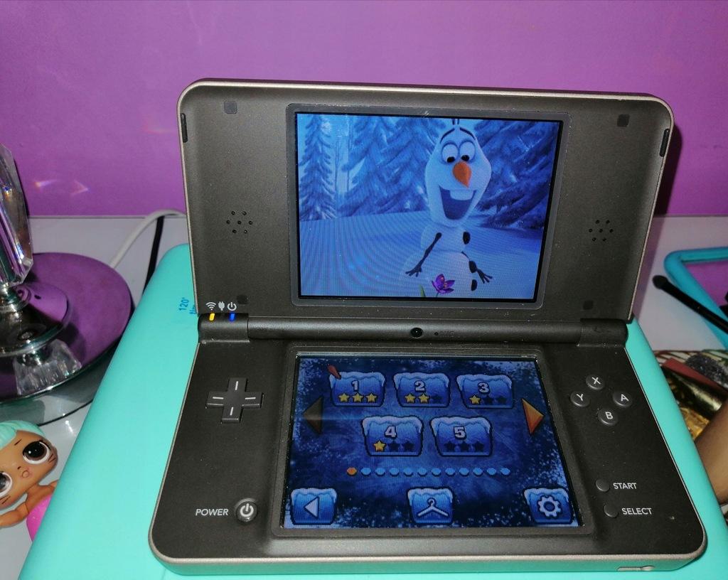 Nintendo DS XL+2gry