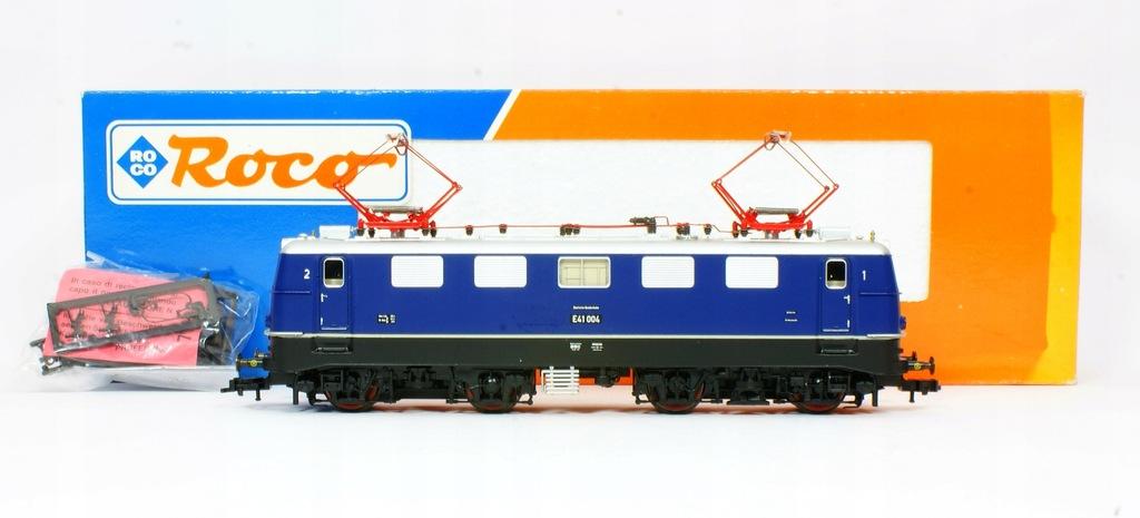 Roco Lokomotywa Elektrowóz E 41 004 DB III ep.