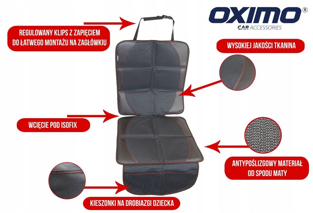 Mata ochronna pod fotelik samochodowy OXIMO: duża