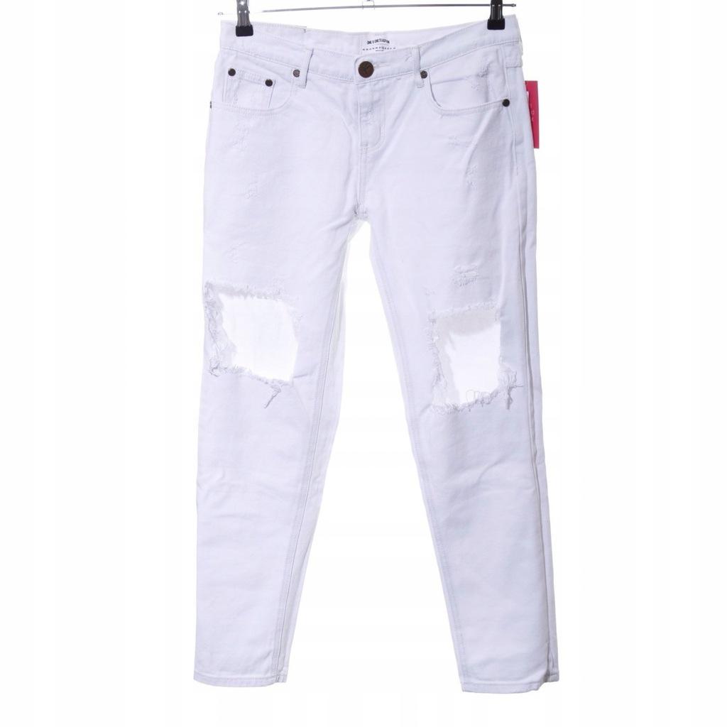 ONE X ONETEASPOON Dopasowane jeansy Rozm. EU 38