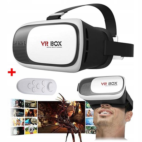 OKULARY GOGLE VR 3D VIRTUAL REALITY BOX + PILOT