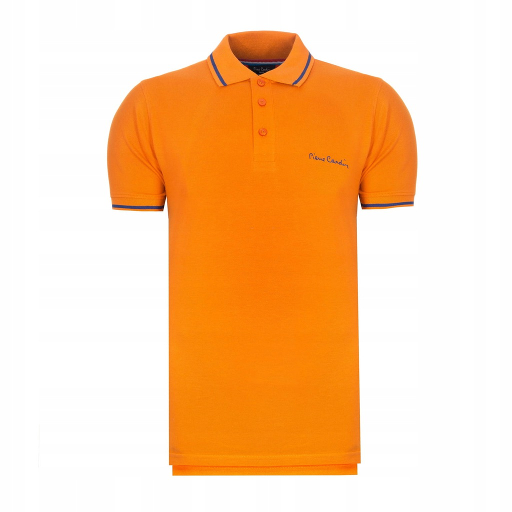 Koszulka polówka POLO PIERRE CARDIN pomarańczowy L