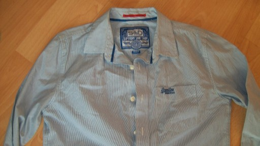 SUPERDRY SHIRT SHOP KOSZULA MEDIUM BDB