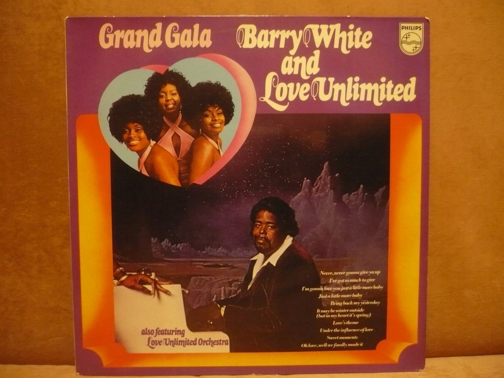 BARRY WHITE AND LOVE LIMITED - GRAND GALA
