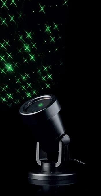Projektor laser zielone krzyżyki