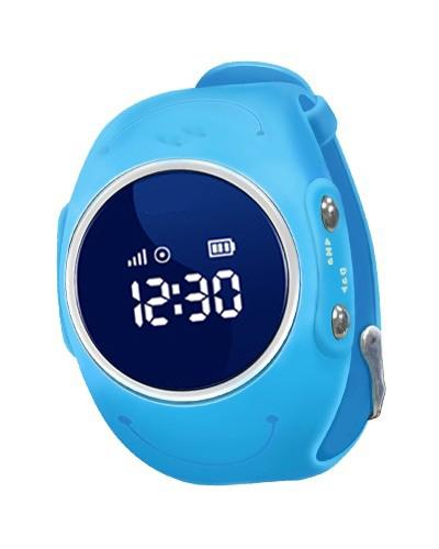Wodoodporny zegarek GPS z telefonem i SOS