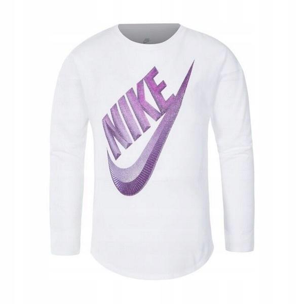 Koszulka z długim rękawem Nike C489S Dziew_3-4 lat