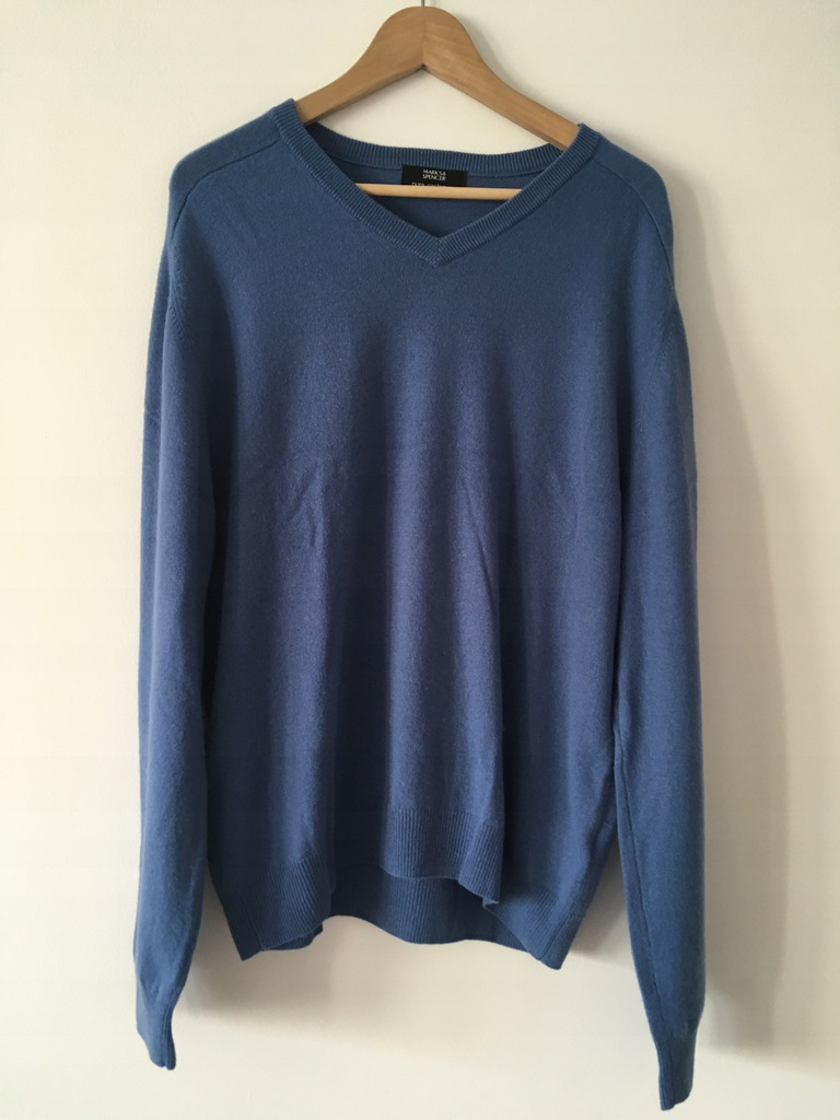 Sweter 100% kaszmir Marks&Spencer puszysty L