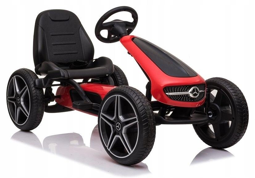 Gokart Mercedes XMX610 Czerwony