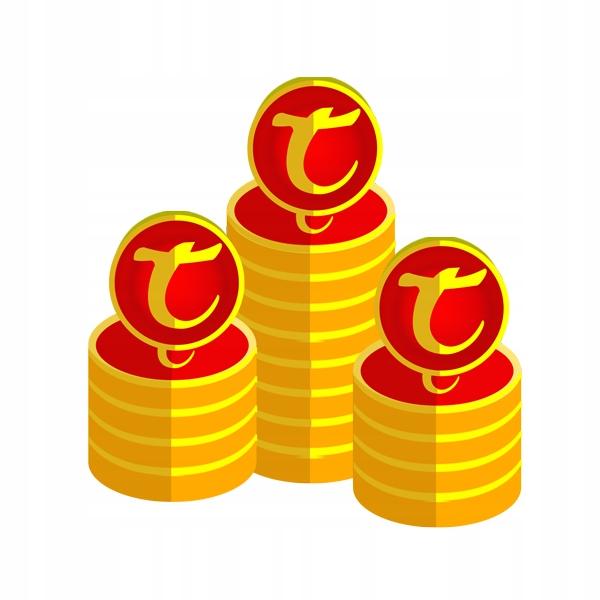 Tibia 1000 TC coins