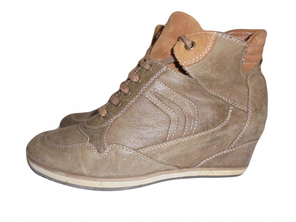 Skórzane buty Geox. Stan idealny. Rozmiar 38.