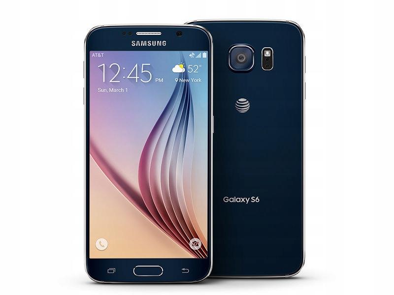 Pl Samsung Galaxy S6 32gb Sm G920f Niebieski 8265906375 Oficjalne Archiwum Allegro