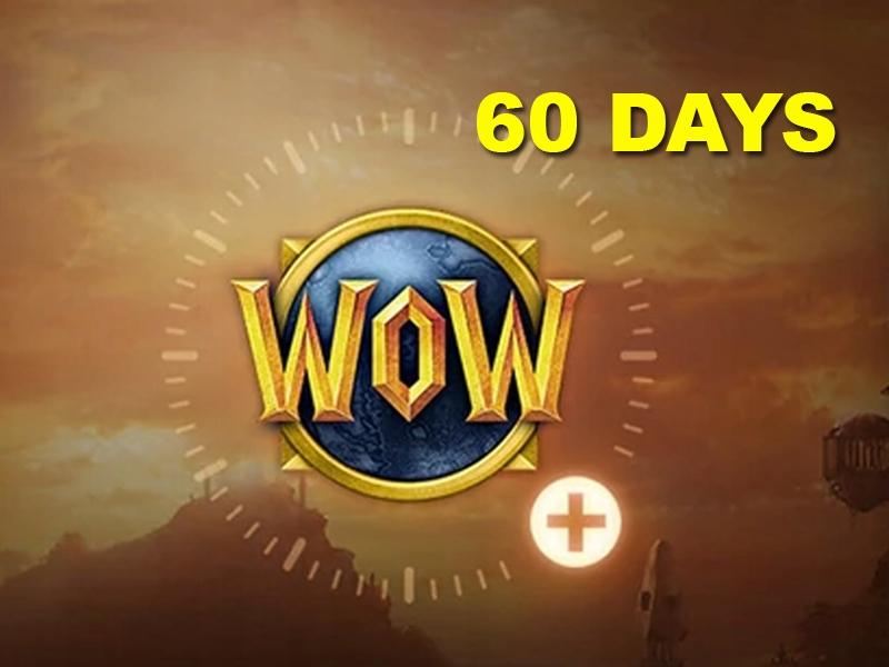 WoW 60 dni czasu gry World of Warcraft EU