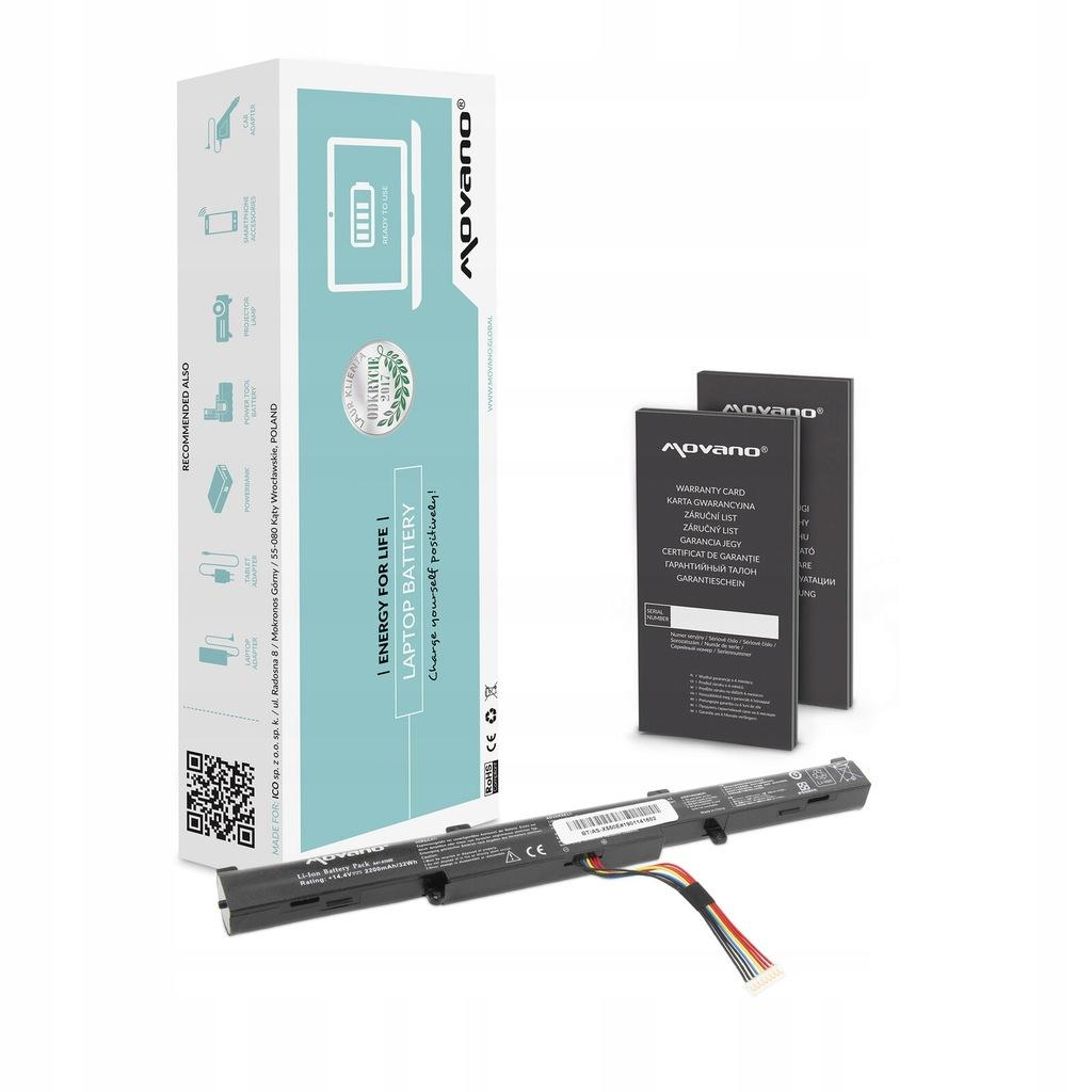 Akumulator do Asus R752LX-T4078H R752LX-T4087H HQ