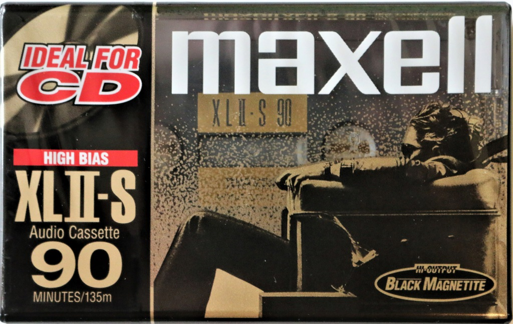 Kaseta MAXELL XLII-S 90 Rok 2000 USA