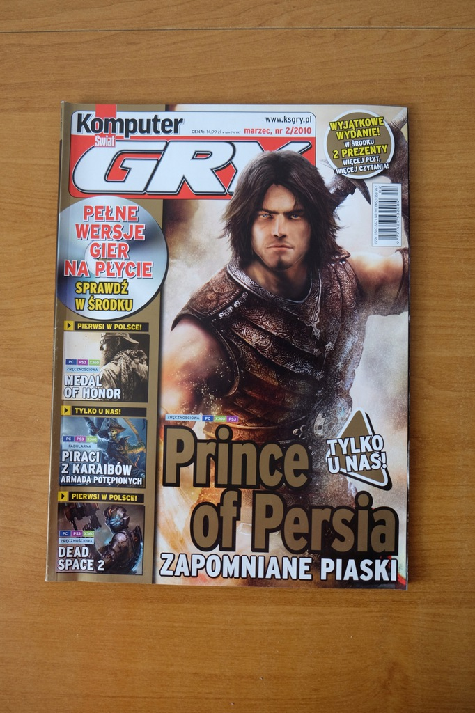 Komputer Świat Gry 2/2010 // Prince of Persia