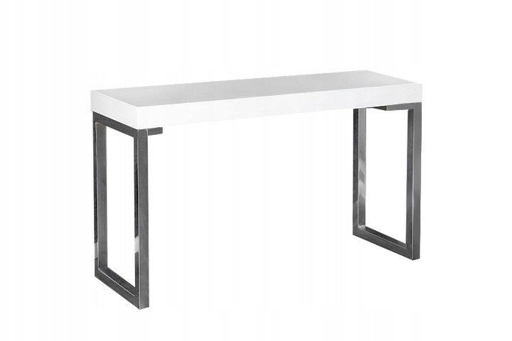 INVICTA biurko VERK 160x60 białe, MDF Lakier