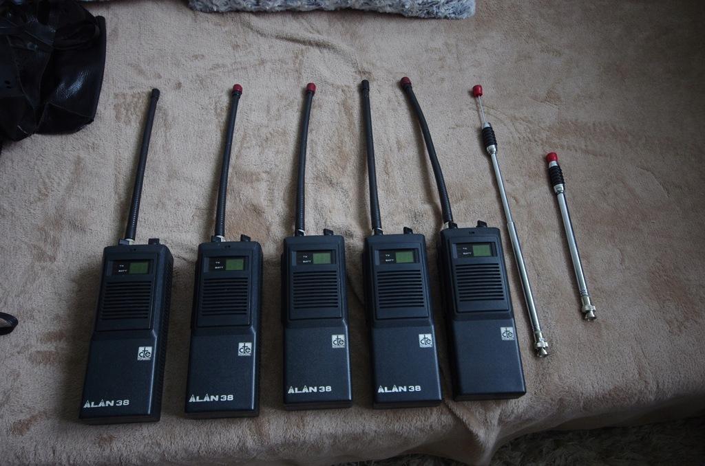 radio cb ręczne Alan 38