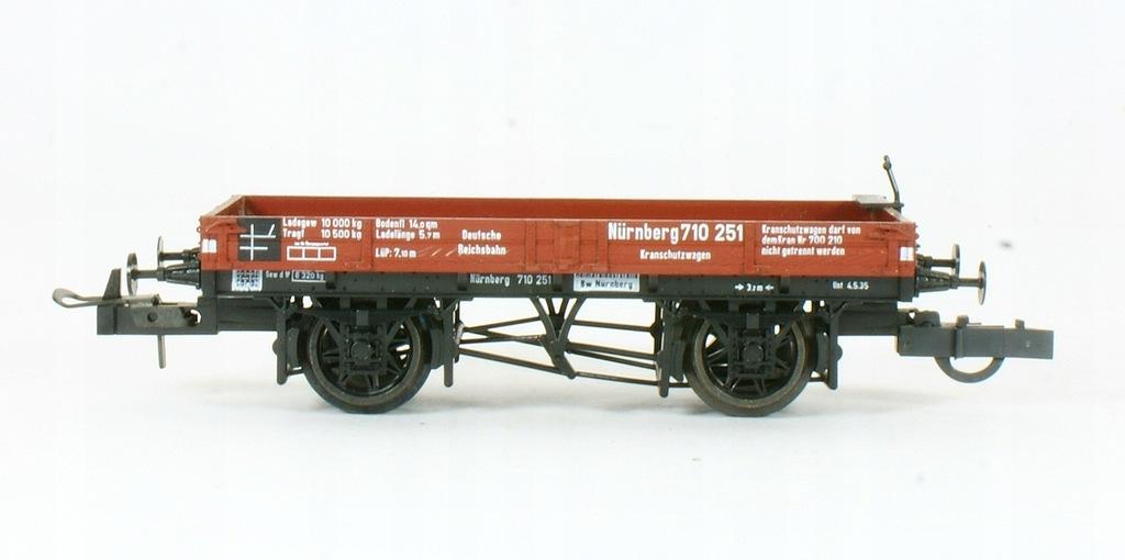 Trix. Wagon mini platforma Nurnberg DRG II ep.