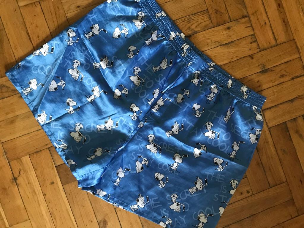 Spodenki szorty do spania piżama H&M XL satyna