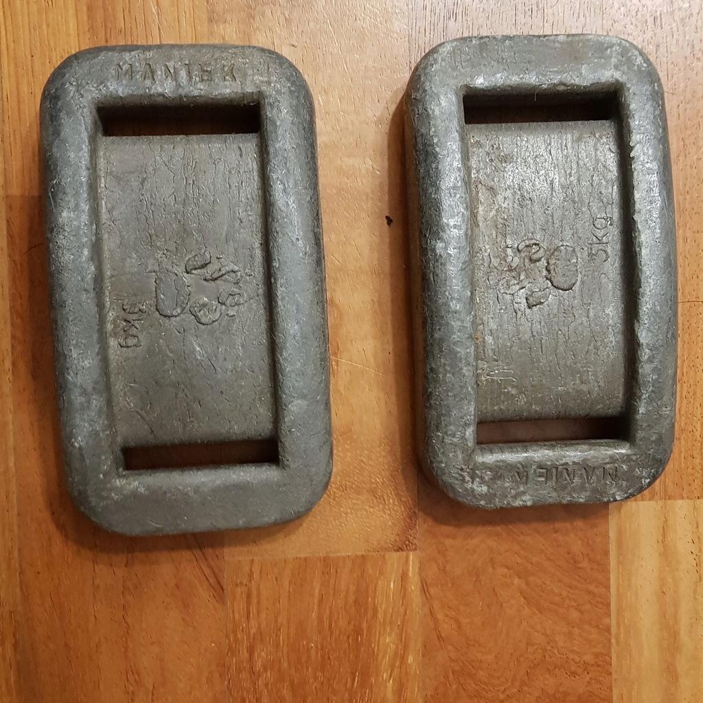 Ciężarek ołowiany, ołów 2 x 5 kg