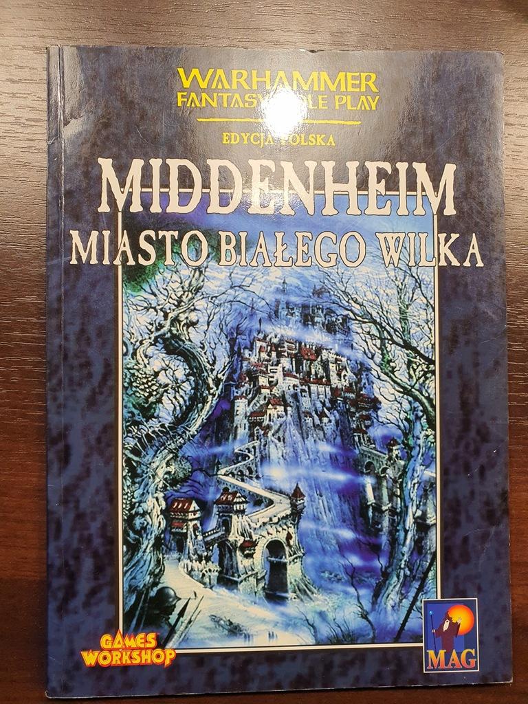 MIDDENHEIM MIASTO BIAŁEGO WILKA - Warhammer 1 ed.