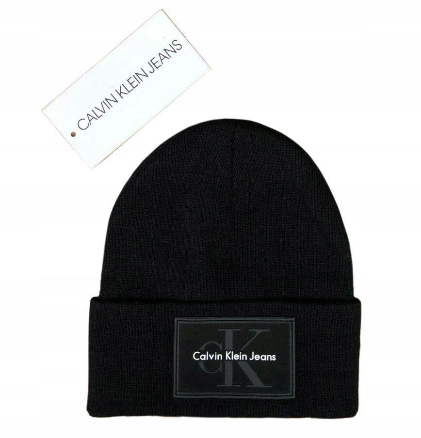 Czapka Calvin Klein Czarna zimowa unisex 3 kolory