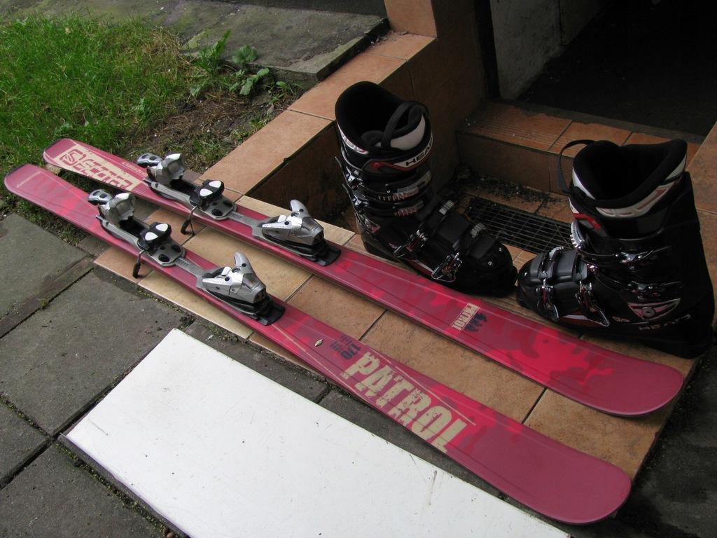 JAK NOWE SCOTT 170cm 116/76/106+ BUTY HEAD nr44-45