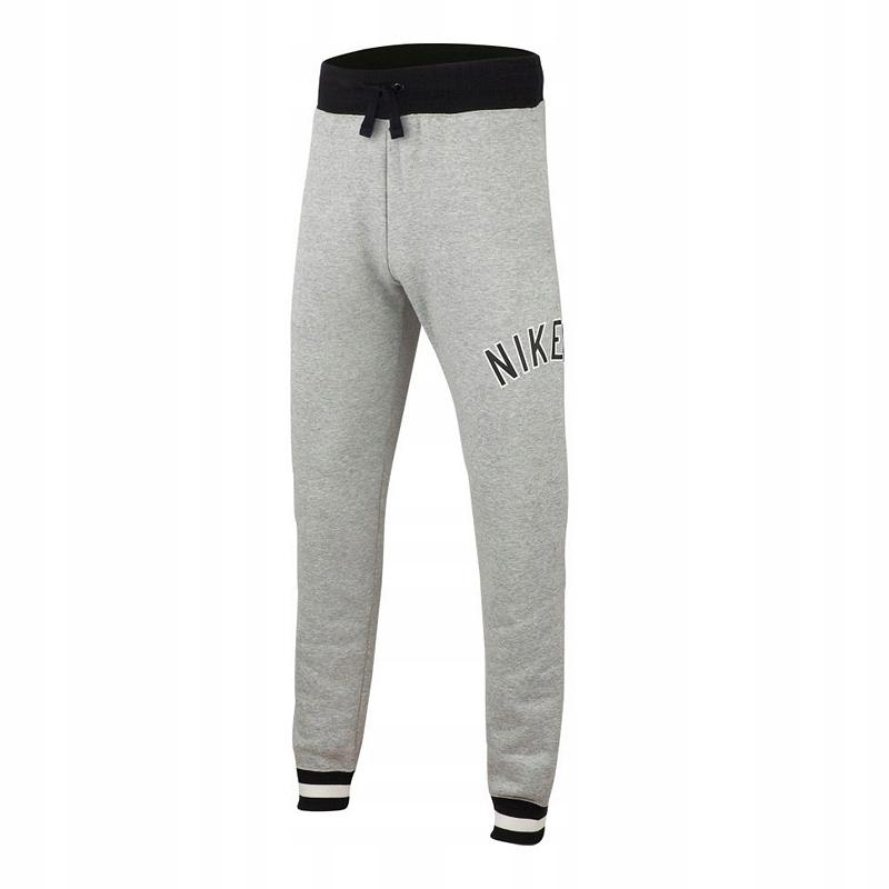 Spodnie dresowe NIKE JR AIR AQ9503-063 - 152 cm