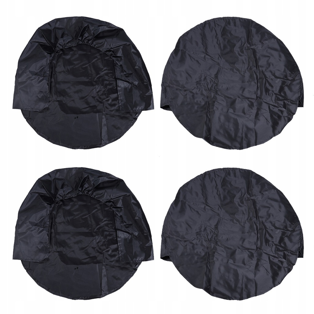 2pcs Wheel Tire Dustproof Covers for Auto Truck Ca