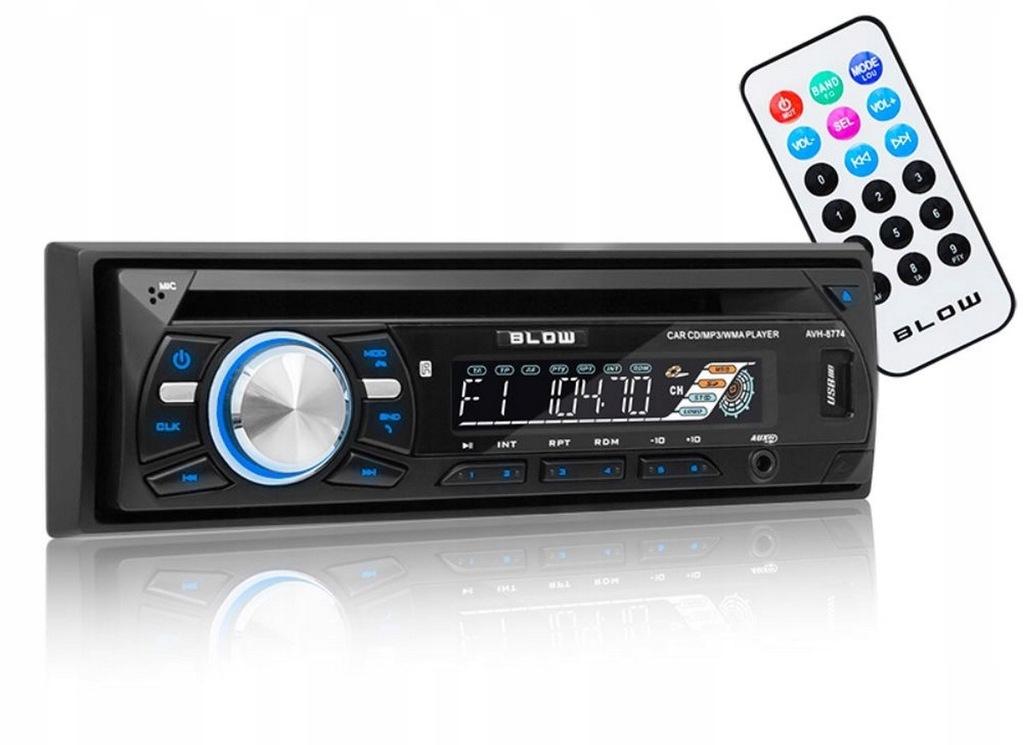 Radio Samochodowe Blow Avh8774 Cd Usb Sd Bluetooth 7499494430 Oficjalne Archiwum Allegro