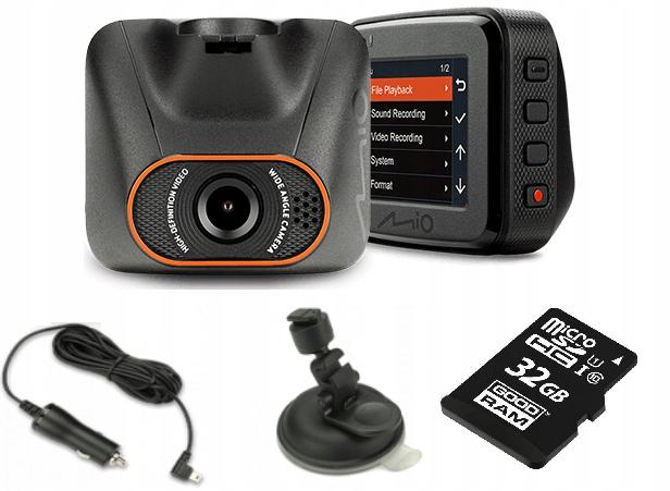 Wideorejestrator MIO C540 FHD Optyka SONY + 32GB