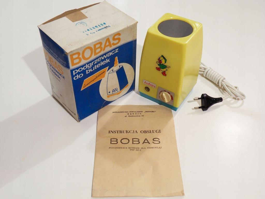 Podgrzewacz do butelek BOBAS NP-2, nieużywany,1982