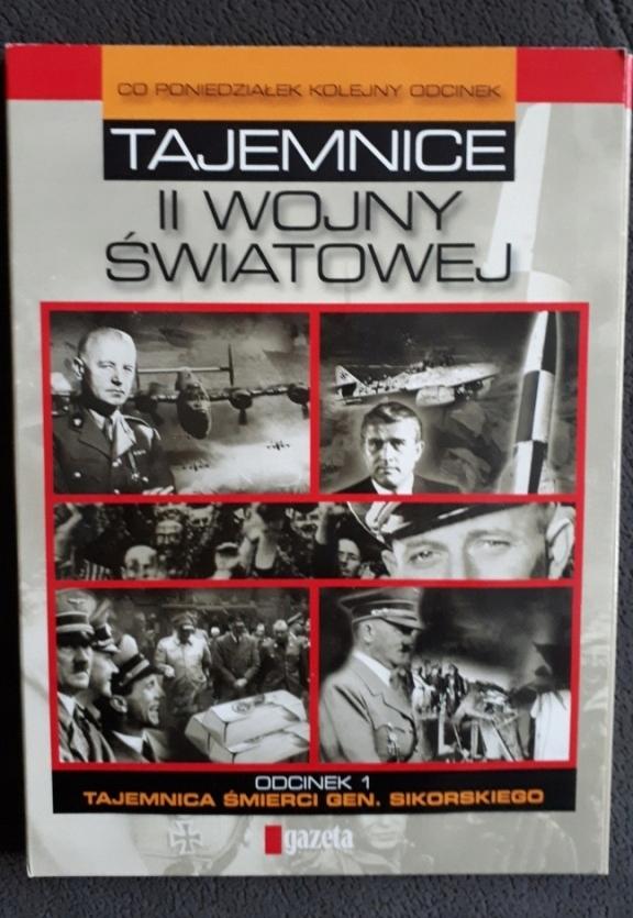 Tajemnice II Wojny Światowej - 5 płyt video CD