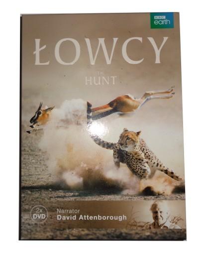 NOWE 2x DVD ŁOWCY Hunt David Attenborough 7 FILMÓW