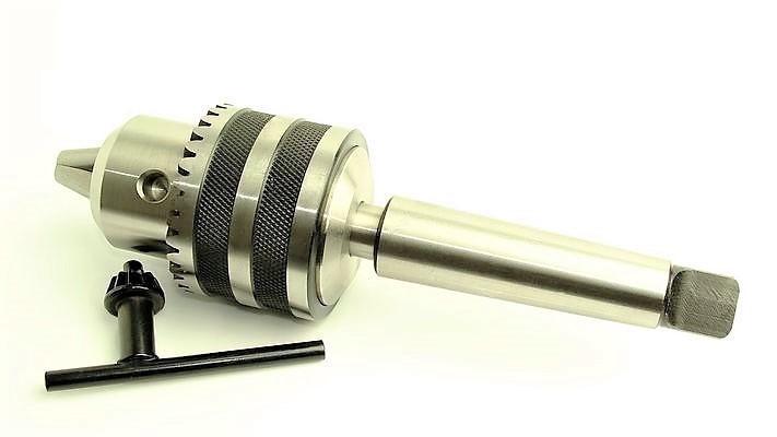 Uchwyt wiertarski kluczyk B18 1-16mm + trzpień MK3