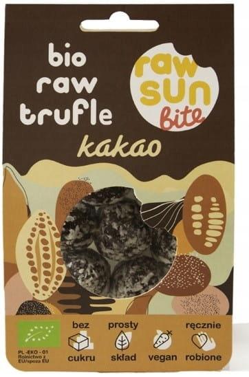 TRUFLE KAKAOWE BIO 105 g - RAW SUN BITE