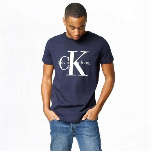 T-shirt Koszulka CALVIN KLEIN Custom Fit Roz. XL
