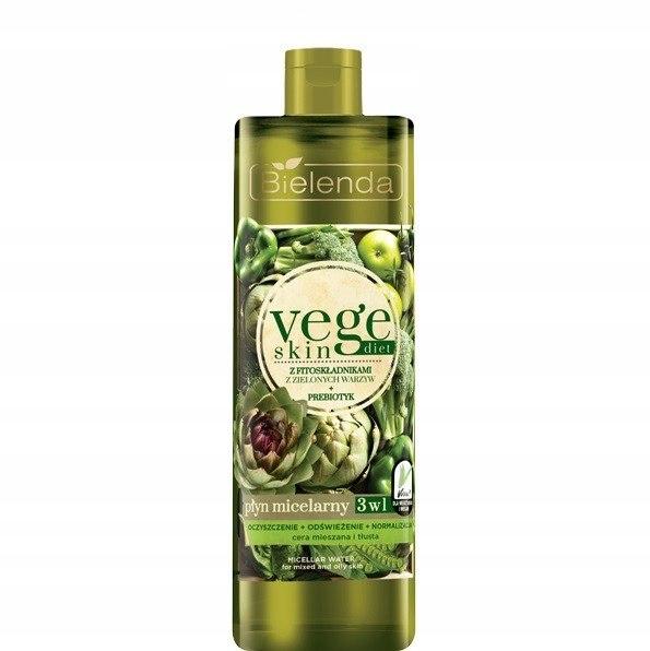 Bielenda Vege Skin Diet Płyn micelarny 3w1 500ml