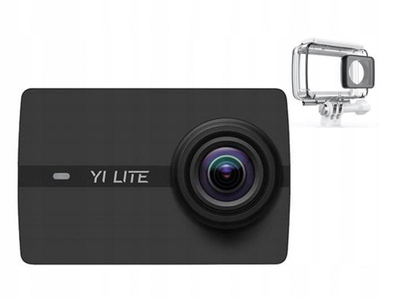 Kamera Sportowa Xiaoyi Yi Lite 4K WiFi + Obudowa