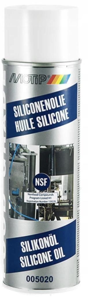 Olej silikonowy w sprayu 500ml Food MOTIP 005020