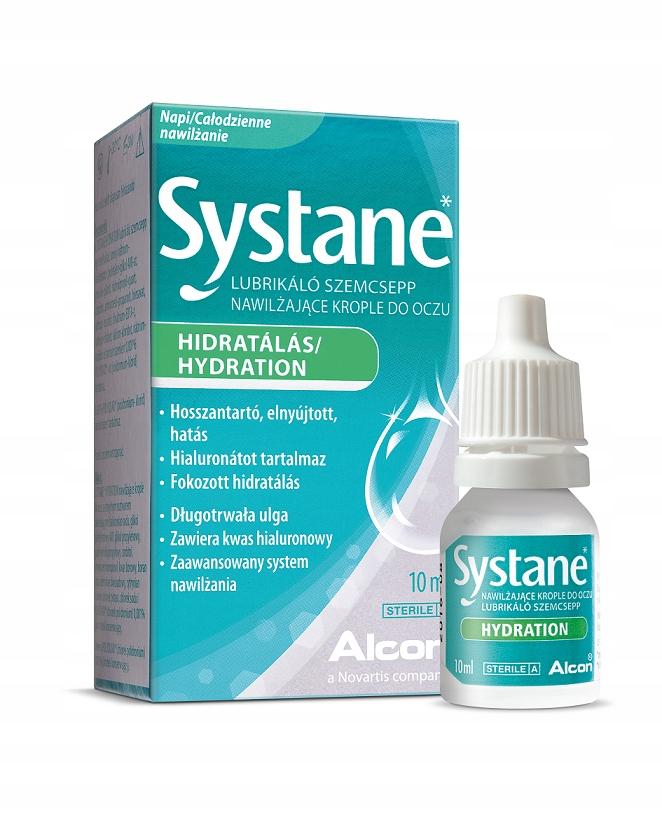 Krople nawilżające do oczu Systane Hydration 10 ml